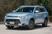 2014 Mitsubishi Outlander ZJ MY14.5 Silver 1 Speed Automatic Wagon Helensvale Gold Coast North Preview