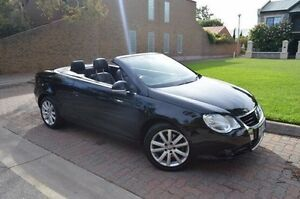 2008 Volkswagen EOS 1F MY08 FSI DSG Black 6 Speed Sports Automatic Dual Clutch Convertible Stepney Norwood Area Preview