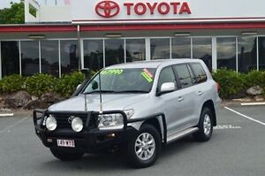2012 Toyota Landcruiser Silver Sports Automatic Wagon Highland Park Gold Coast City Preview