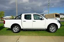 2013 Nissan Navara D40 S5 MY12 ST-X Blackline White 7 Speed Sports Automatic Utility Wangara Wanneroo Area Preview