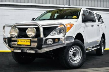 2014 Mazda BT-50 UP0YF1 XT White 6 Speed Manual Utility Canning Vale Canning Area Preview