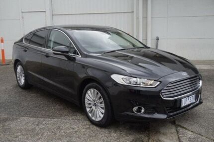 2016 Ford Mondeo MD Trend PwrShift Black 6 Speed Sports Automatic Dual Clutch Hatchback