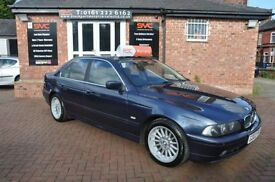BMW 5 SERIES 2.9 530D 4d AUTO 191 BHP 2 OWNERS/ 2 KEYS (blue) 2002