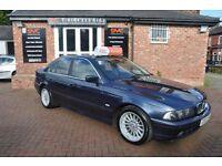 BMW 5 SERIES 2.9 530D 4d AUTO 191 BHP 2 OWNERS/ 2 KEYS (blue) 2002