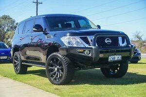 2014 Nissan Patrol Y62 ST-L Black 7 Speed Sports Automatic Wagon Wangara Wanneroo Area Preview