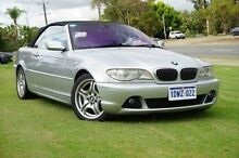 2004 BMW 330CI E46 MY04.5 Steptronic Silver 5 Speed Sports Automatic Convertible Wangara Wanneroo Area Preview