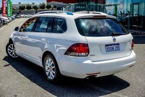 2012 Volkswagen Golf 1K MY13 118 TSI Comfortline White 7 Speed Auto Direct Shift Wagon