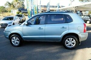 2009 Hyundai Tucson 08 Upgrade City SX Blue 5 Speed Manual Wagon Gosford Gosford Area Preview