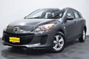 2013 Mazda 3 BL10F2 MY13 Neo Grey 6 Speed Manual Hatchback Edgewater Joondalup Area Preview