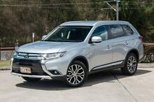 2015 Mitsubishi Outlander ZK MY16 LS 4WD Silver 6 Speed Constant Variable Wagon Helensvale Gold Coast North Preview
