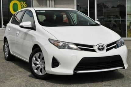 2014 Toyota Corolla ZRE182R Ascent S-CVT White 7 Speed Constant Variable Hatchback Upper Ferntree Gully Knox Area Preview