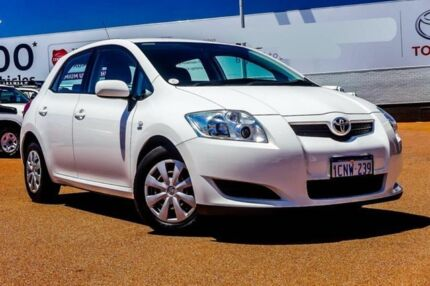 2007 Toyota Corolla ZRE152R Ascent White 4 Speed Automatic Hatchback Balcatta Stirling Area Preview