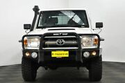 2013 Toyota Landcruiser VDJ79R MY13 GXL Double Cab White 5 Speed Manual Cab Chassis Edgewater Joondalup Area Preview