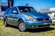 2012 Kia Grand Carnival VQ MY13 S Blue 6 Speed Sports Automatic Wagon Wangara Wanneroo Area Preview