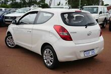 2012 Hyundai i20 PB MY12 Active White 5 Speed Manual Hatchback Balcatta Stirling Area Preview