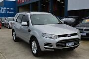 2012 Ford Territory SZ TX (RWD) Silver 6 Speed Automatic Wagon Tottenham Maribyrnong Area Preview