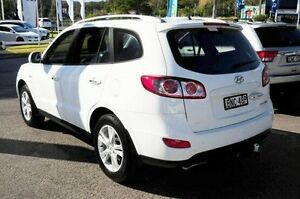 2010 Hyundai Santa Fe CM MY10 Highlander White 6 Speed Sports Automatic Wagon Gosford Gosford Area Preview