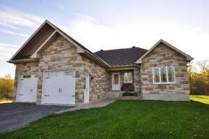 4 Bedroom, 3 Bathroom Bungalow on 5.99 Acres in Limoges!