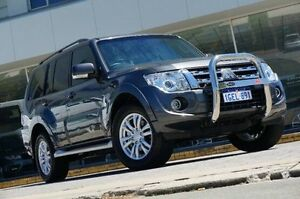 2013 Mitsubishi Pajero NW MY14 VR-X Grey 5 Speed Sports Automatic Wagon St James Victoria Park Area Preview