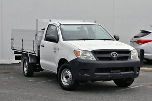 2008 Toyota Hilux TGN16R MY08 Workmate White 5 Speed Manual Cab Chassis Tweed Heads South Tweed Heads Area Preview