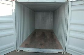 20' Shipping Container for Storage in Shepperton Yard