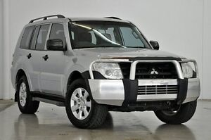 2011 Mitsubishi Pajero NT MY11 GLX Silver 5 Speed Sports Automatic Wagon Tweed Heads South Tweed Heads Area Preview
