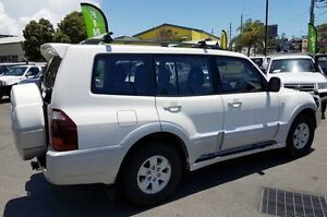 2003 Mitsubishi Pajero NP MY04 Exceed White 5 Speed Automatic Wagon Southport Gold Coast City Preview