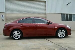 2008 Mazda 6 GH1051 Luxury Red 5 Speed Sports Automatic Sedan Ashmore Gold Coast City Preview
