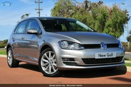 2015 Volkswagen Golf  Silver Sports Automatic Dual Clutch Hatchback Launceston 7250 Launceston Area Preview