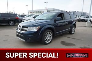2013 Dodge Journey R/T ALL WHEEL DRIVE Accident Free,  Leather,