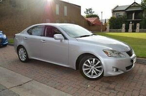 2005 Lexus IS250 GSE20R Sports Luxury Silver 6 Speed Sports Automatic Sedan Stepney Norwood Area Preview