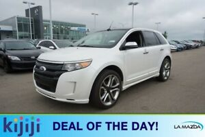 2013 Ford Edge AWD SPORT Navigation (GPS),  Leather,  Heated Sea