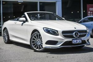 2016 Mercedes-Benz S500 A217 807MY 9G-Tronic PLUS White 9 Speed Sports Automatic Cabriolet Osborne Park Stirling Area Preview