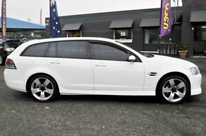 2008 Holden Commodore VE MY09 SV6 Sportwagon White 5 Speed Sports Automatic Wagon North Gosford Gosford Area Preview