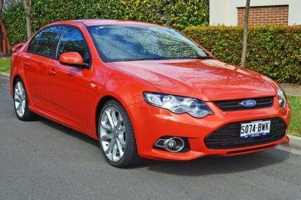 2013 Ford Falcon FG MkII XR6 Turbo Red 6 Speed Sports Automatic Sedan Medindie Walkerville Area Preview