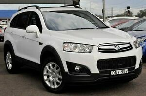 2014 Holden Captiva CG MY15 7 Active White 6 Speed Sports Automatic Wagon Gosford Gosford Area Preview