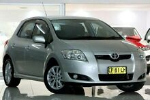 2007 Toyota Corolla ZRE152R Levin SX Silver 4 Speed Automatic Hatchback Waitara Hornsby Area Preview