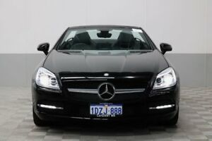 2012 Mercedes-Benz SLK R172 200 BE Black 7 Speed Automatic G-Tronic Convertible