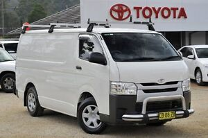 2014 Toyota Hiace KDH201R MY14 LWB White 4 Speed Automatic Van Watanobbi Wyong Area Preview