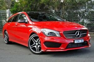 2016 Mercedes-Benz CLA200 Red Sports Automatic Dual Clutch Wagon Burwood Whitehorse Area Preview