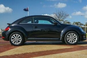 2014 Volkswagen Beetle 1L MY15 Coupe Black 6 Speed Manual Liftback