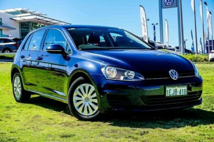 2013 Volkswagen Golf VII MY14 90TSI DSG Blue 7 Speed Sports Automatic Dual Clutch Hatchback Wangara Wanneroo Area Preview