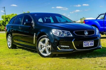 2015 Holden Commodore VF II MY16 SV6 Sportwagon Black 6 Speed Sports Automatic Wagon Wangara Wanneroo Area Preview