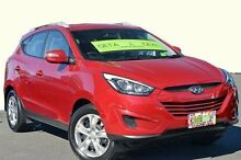 2014 Hyundai ix35 LM3 MY14 Active Red 6 Speed Sports Automatic Wagon Coolangatta Gold Coast South Preview