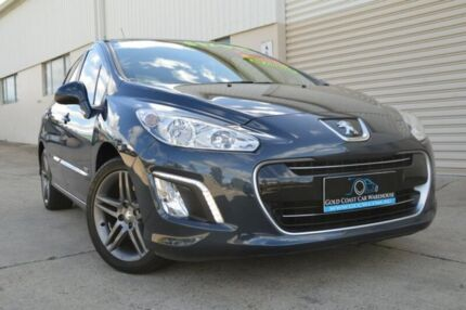 2013 Peugeot 308 T7 MY13 Sportium Blue 6 Speed Sports Automatic Hatchback Ashmore Gold Coast City Preview