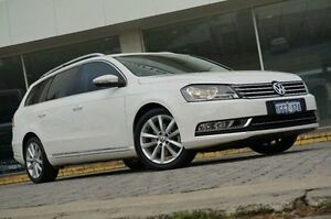 2012 Volkswagen Passat Type 3C MY13 125TDI DSG Highline White 6 Speed Sports Automatic Dual Clutch St James Victoria Park Area Preview