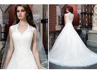 Beautiful Justin Alexander 8720 Wedding Dress For Sale