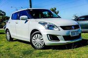 2014 Suzuki Swift FZ MY14 GL White 5 Speed Manual Hatchback Wangara Wanneroo Area Preview