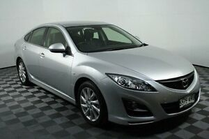 2011 Mazda 6 GH1052 MY12 Touring Silver 5 Speed Sports Automatic Hatchback Edwardstown Marion Area Preview
