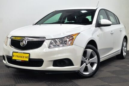 2013 Holden Cruze JH Series II MY13 Equipe White 6 Speed Sports Automatic Hatchback Edgewater Joondalup Area Preview